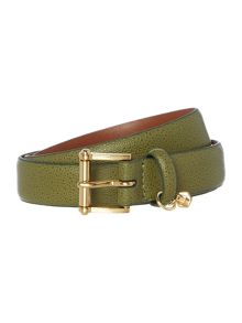 Lauren Ralph Lauren Tan 1 stringway ennd bar belt