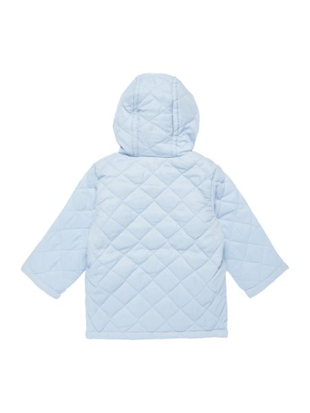 Benetton Newborn Quilted Jacket with Hood