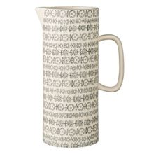 Bloomingville Karine jug grey