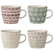 Bloomingville Karine mugs set of 4