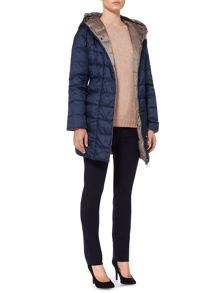Max Mara Luis padded coat with detachable hood