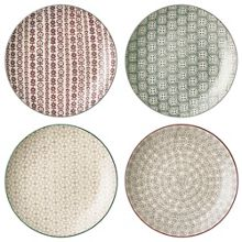Bloomingville Karine dinner plates set of 4