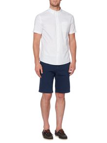 Howick Short Sleeved Plain Oxford Shirt