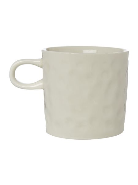 Bloomingville Cup with star white/black