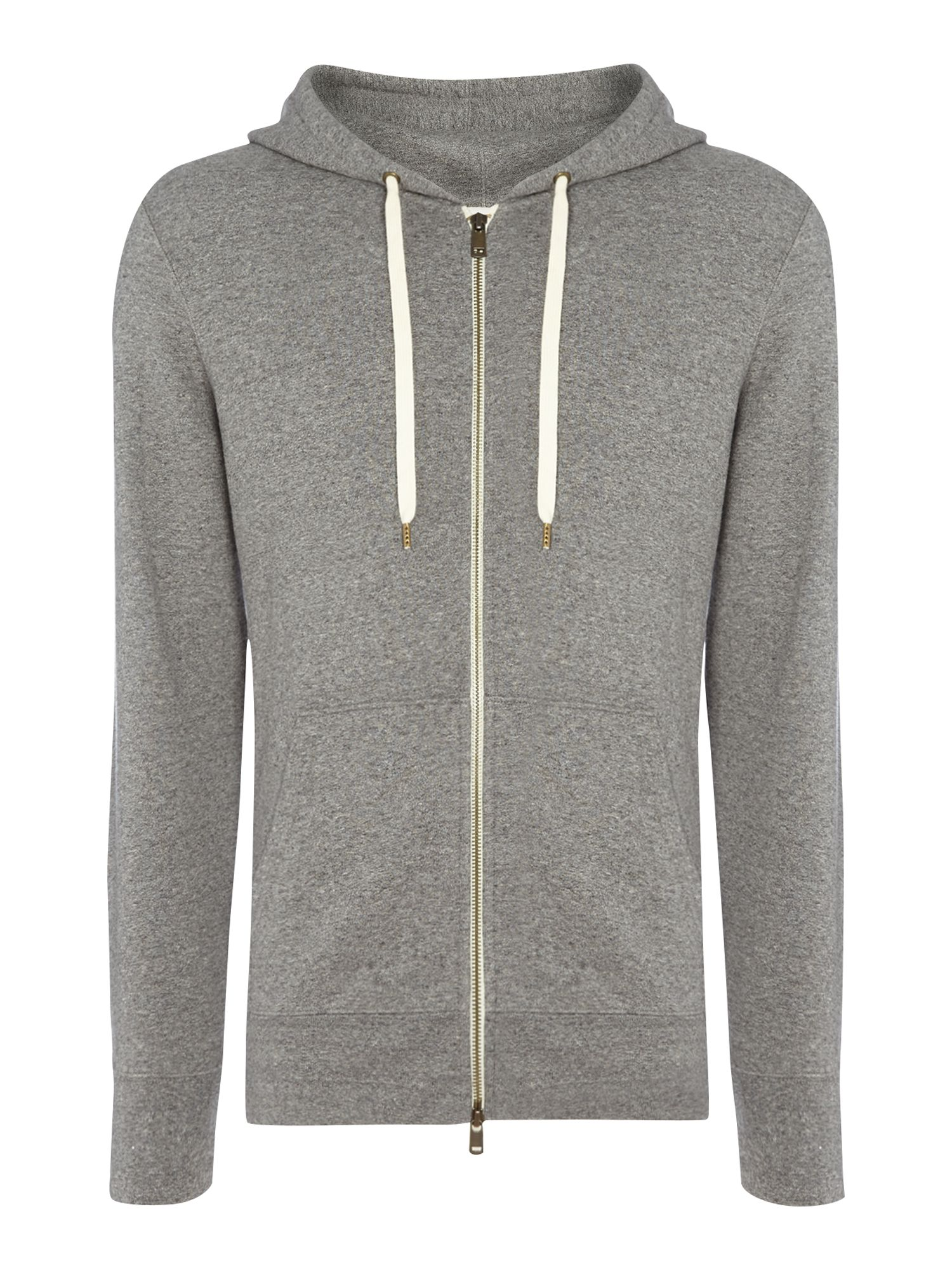 Men's Levi's Classic 2 pocket zip through hoodie, Grey