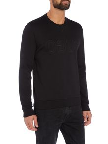 Hugo Dapone Crew Neck Logo Sweat