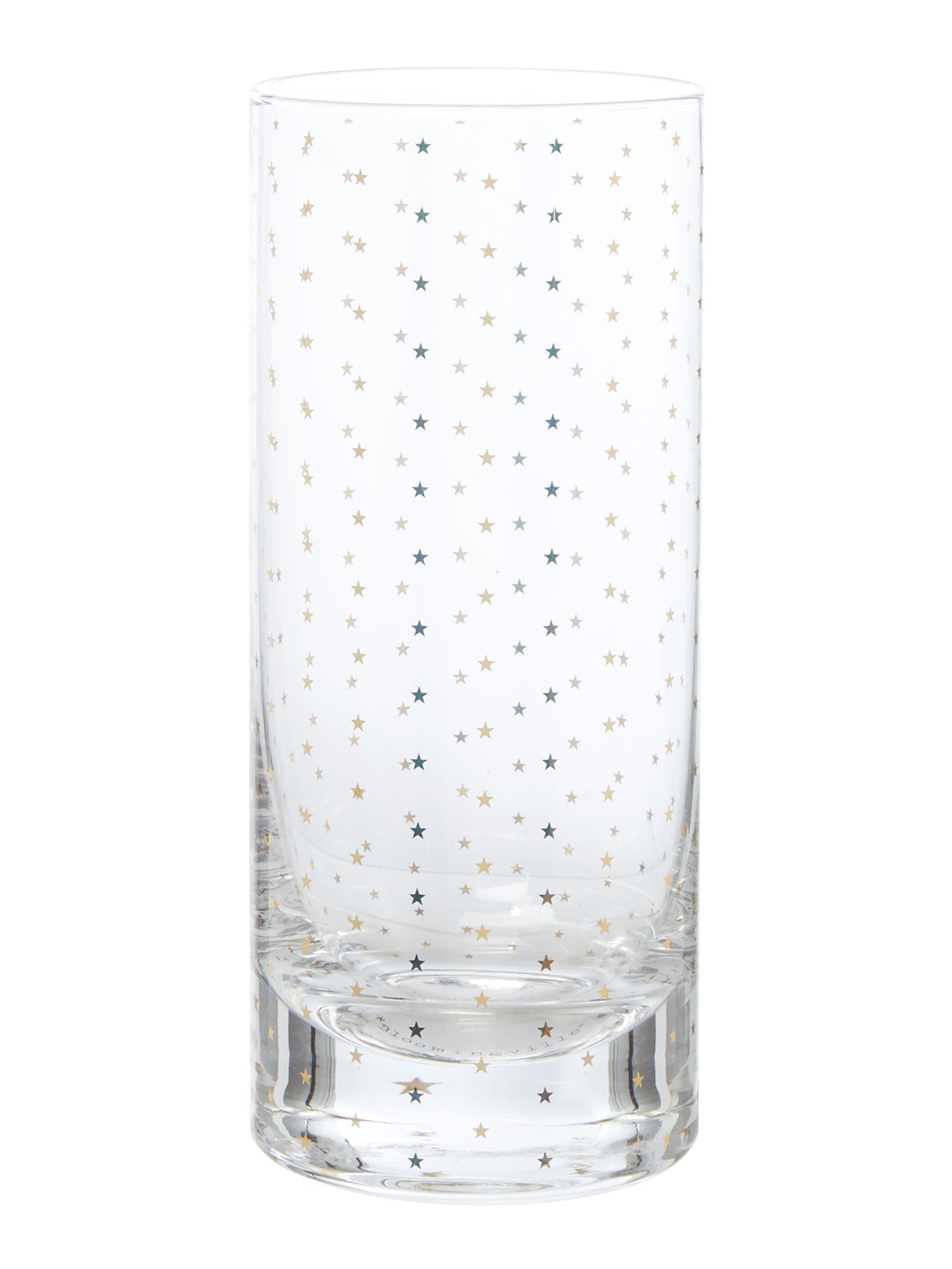 Image of Bloomingville Gold stars hi ball glass