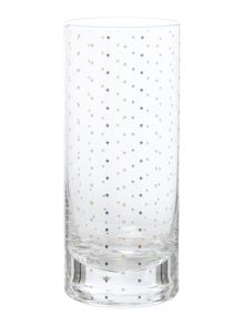 Bloomingville Gold stars hi ball glass
