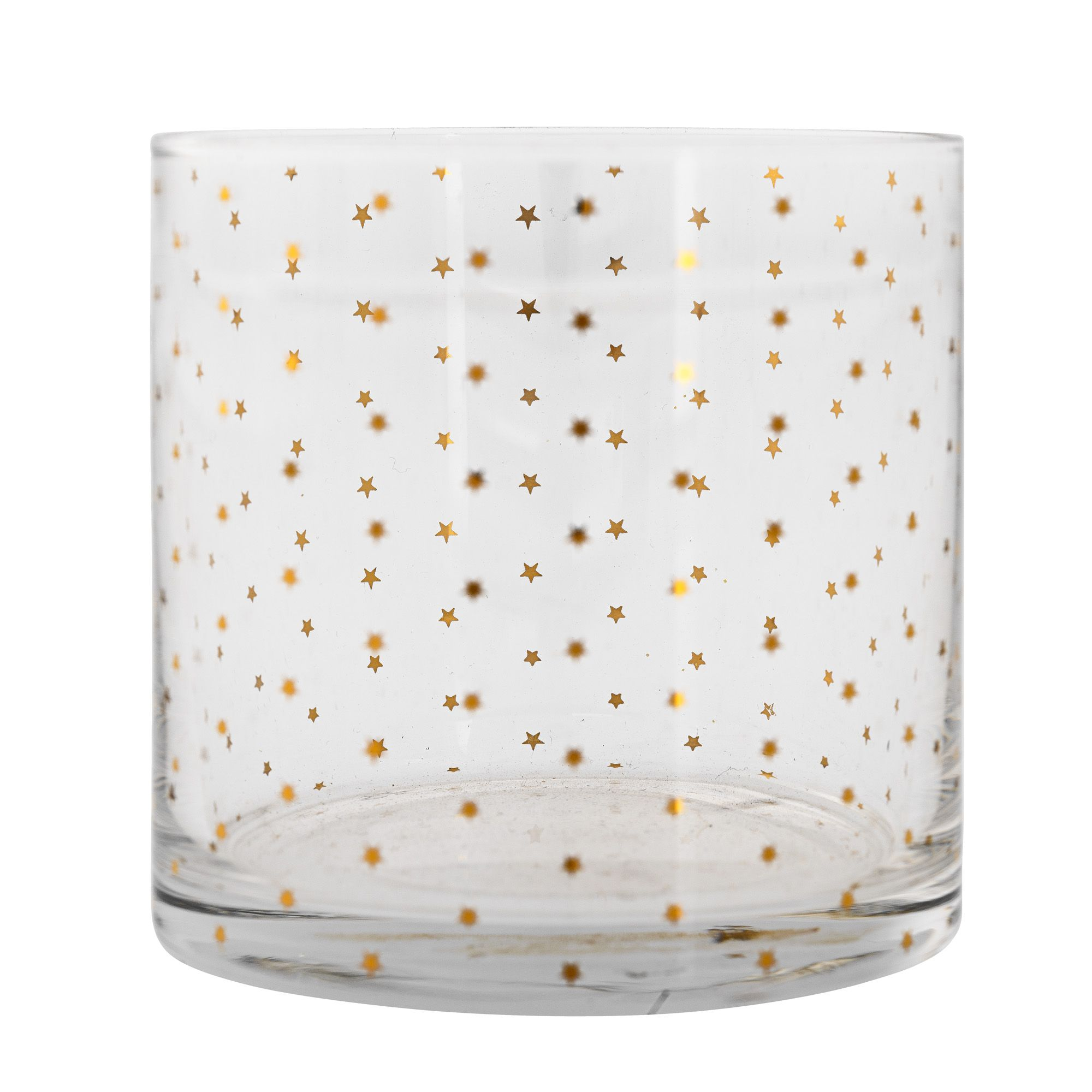 Image of Bloomingville Gold stars glass tumbler