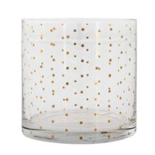 Bloomingville Gold stars glass tumbler