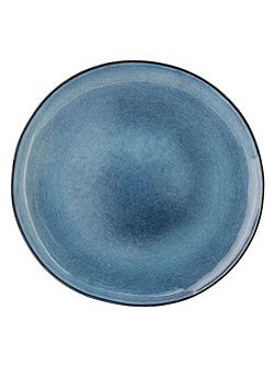 Sandrine Side Plate Blue 22cm
