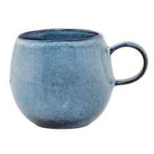 Bloomingville Sandrine side mug blue
