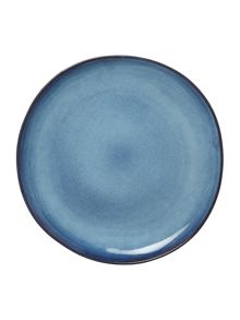 Bloomingville Sandrine dinner plate blue 22cm