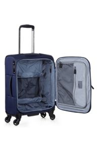Antler Airstream 2 navy 4 wheel soft cabin suitcase