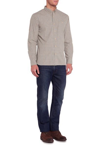 Howick Hockley Checked Long Sleeve Shirt