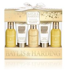 Baylis & Harding Sweet Mandarin & Grapefruit 5 Piece Set