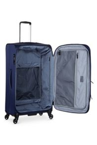 Antler Airstream 2 navy 4 wheel soft large suitcase