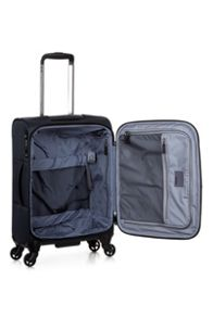 Antler Airstream 2 charcoal 4 wheel soft cabin suitcase