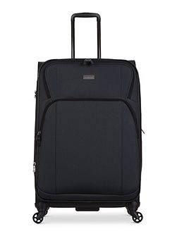 Airstream 2 charcoal 4 wheel soft large suitcase