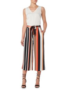 Therapy Stripe Culotte Trousers