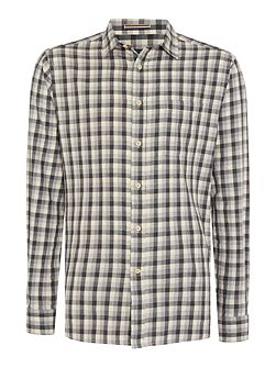 Colden Marl Checked Long Sleeved Shirt