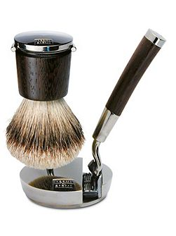 Collezione Barbiere Deluxe Brush And Razor Stand