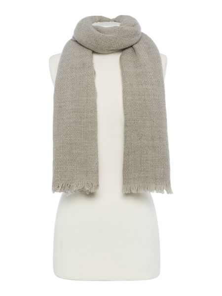 Gray & Willow Weaved Wool Scarf