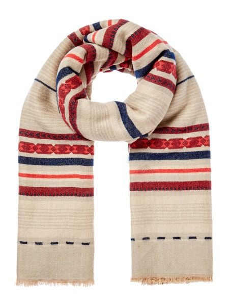 Dickins & Jones Stripe Blanket Scarf