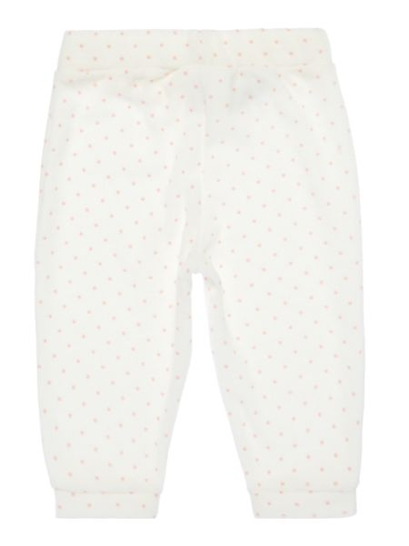Benetton Baby Polka Dot Velour Jogger bottoms