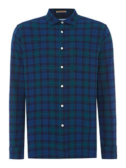 Clubhouse Brushed Oxford Check Long Sleeve Shirt