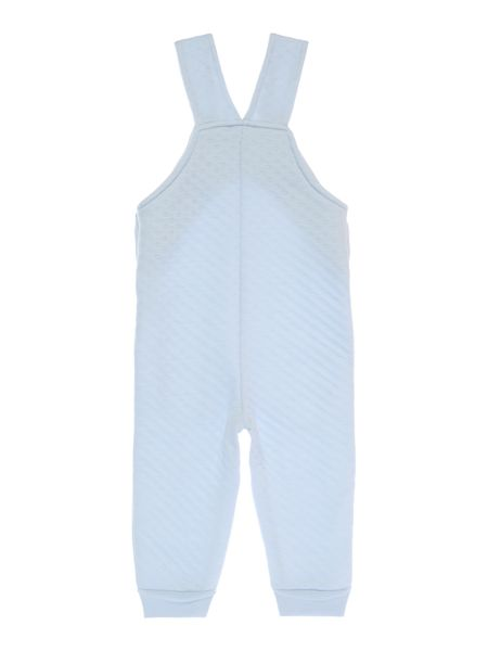 Benetton Girls Textured Jersey Dungarees