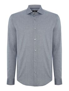 Hugo Boss Ridley 4 slim fit long sleeve oxford shirt