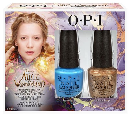 OPI Alice in Wonderland Alice Duo Pack