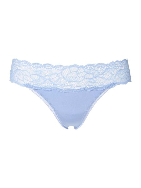 Calvin Klein Seductive Comfort With Lace Thong