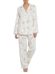 Lauren Ralph Lauren Notch collar classic pyjama set