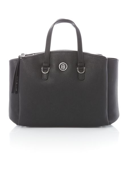 Tommy Hilfiger Core black satchel bag