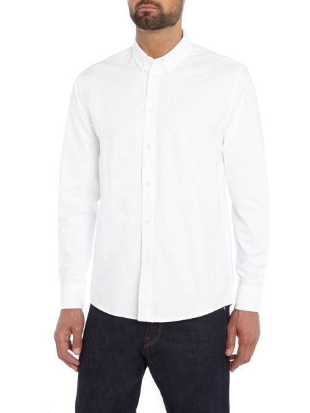 Soulland Regular fit button down oxford shirt
