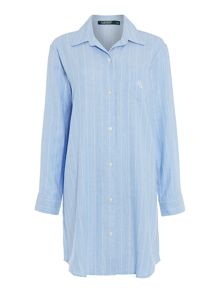Lauren Ralph Lauren Sateen sleep shirt
