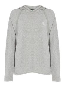 Lauren Ralph Lauren Hooded lounge sweatshirt
