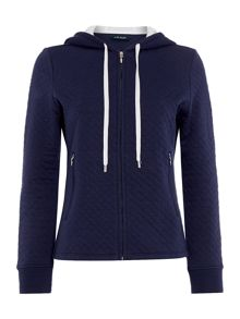 Lauren Ralph Lauren Quilted zip lounge jacket