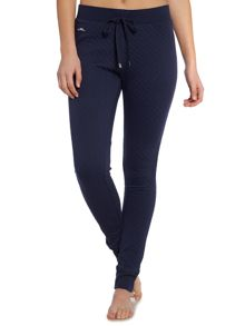 Lauren Ralph Lauren Quilted cuffed lounge pant