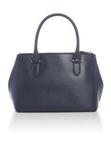 Lauren Ralph Lauren Newbury navy large tote bag