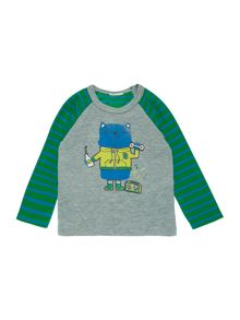 Benetton Newborn Cat Character Top