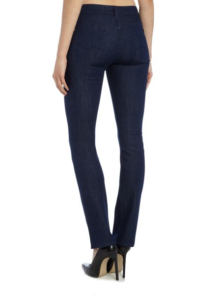 7 For All Mankind Kimmie straight leg jean in bi-stretch rinse