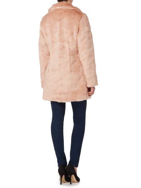 Ruby + Ed Faux Fur Collar Coat