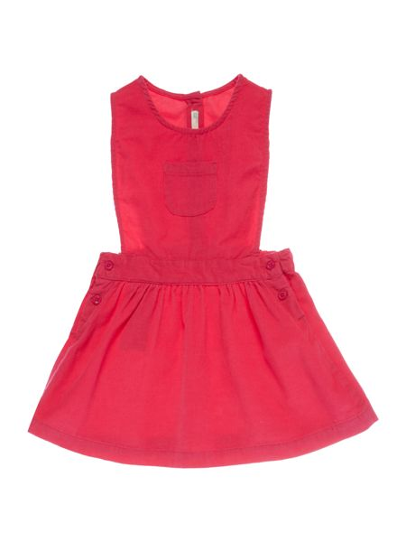 Benetton Baby Cord Pinafore Dress