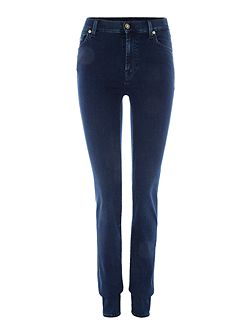 Rozie slim illusion luxe jean in rich indigo