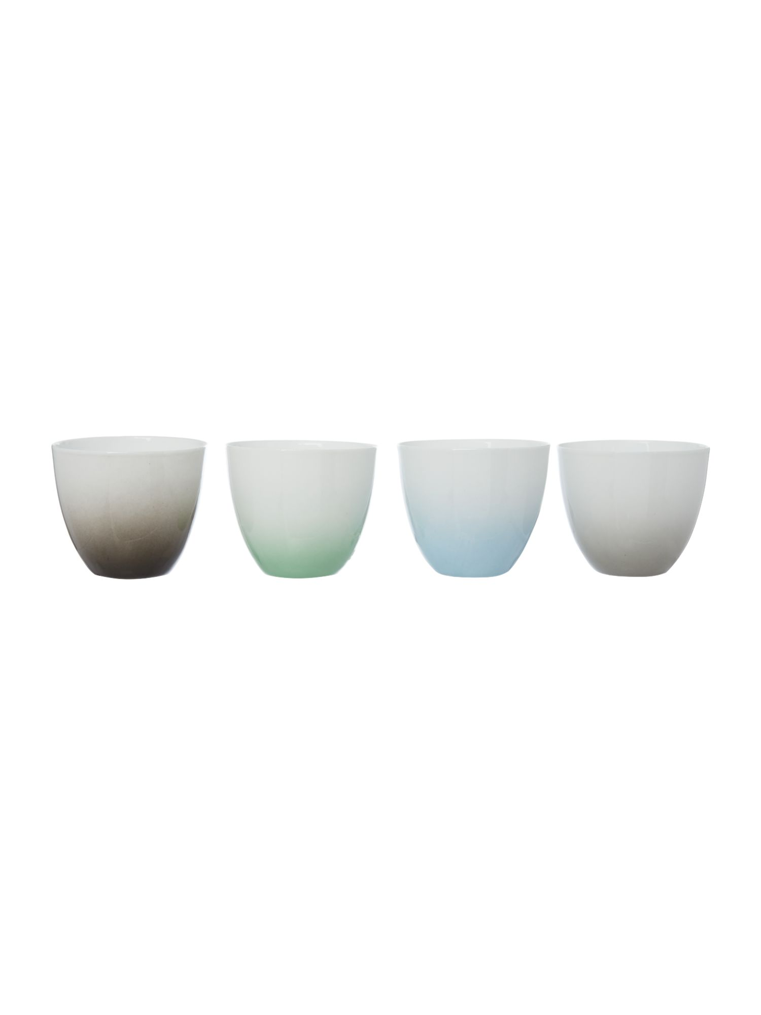 Image of Bloomingville Gradient coloured votives, set of 4