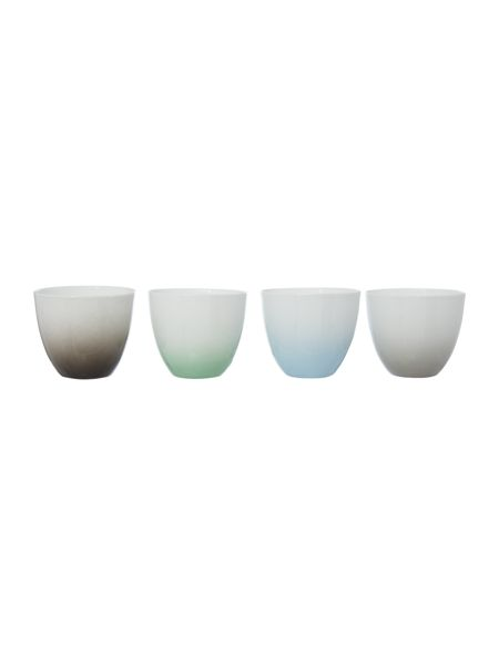 Bloomingville Gradient coloured votives, set of 4