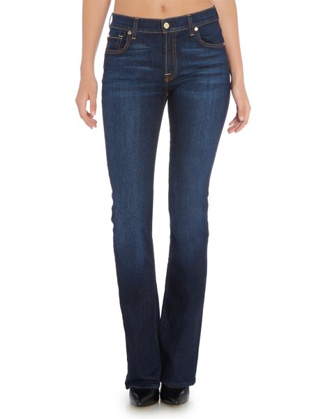 7 For All Mankind Bootcut jean in new york dark